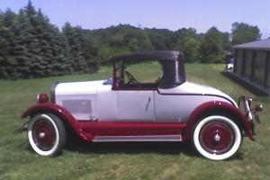 1925 Studebaker Model ER - Standard Six  - off frame restoration