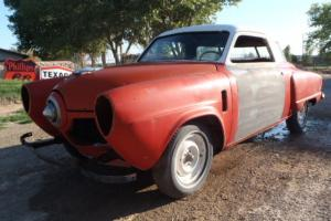 1951 STUDEBAKER STARLIGHT COUPE BULLET NOSE HOT RAT STREET ROD GASSER PROJECT