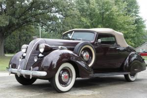 1937 HUDSON TERRAPLANE MODEL 71 CONVERTIBLE COUPE * BEAUTIFUL RESTORATION *