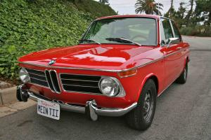 1973 BMW 2002tii, 5-Speed, Fuel Injected, Fully Restored