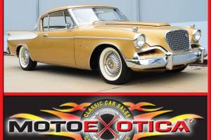 1957 STUDEBAKER GOLDEN HAWK RARE SUPERCHARGED YEAR 1 OF 4,356 PRODUCED! LQQK!!!!