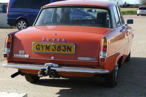 1974 Rover p6 2200 auto 85136 careful miles