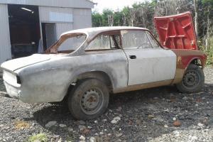 Alfa Romeo Giulia 105 GT Bertone 1971 ( Restoration Project ) Historic Tax