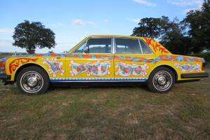 PSYCHEDELIC ROLLS ROYCE silver spirit px bentley cash up or down  Photo