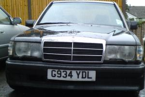 1990 MERCEDES 190E 2.5-16 BLACK