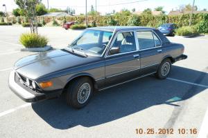 1980 BMW 528i with 5-Speed Manual Transmission, E12 Body, M30 Engine, Prod 2/80