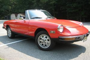 1972 Alfa Romeo Spider 2 Liter Fuel Injection