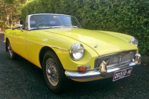 MGB 1964 Chrome Bumper Australian Model Roadster This IS A Real GEM OF A CAR in Melbourne, VIC  Photo