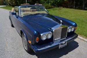 1986 Rolls Royce  Corniche with 35263 original miles. Photo
