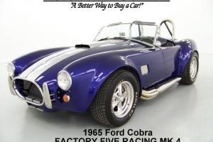 1965 FORD COBRA MK4 FORD REPLICA FACTORY FIVE RACING JVC AUDIO FORD V8 MOTOR 1K Photo