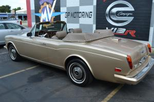 1982 Rolls-Royce Corniche Convertible Low 28919 miles Worldwide Shipping Photo