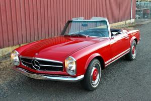 1968 Mercedes-Benz 280SL, 4-SPEED, RARE EUROPEAN CAR, FULLY RESTORED!!