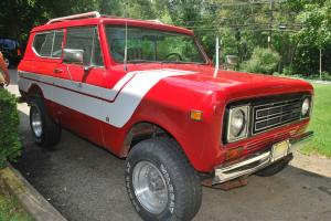 1979 International Scout II Rally  W/Roll Bar New Jersey Pickup  FANTASTIC SHAPE Photo