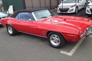 Pontiac Firebird Convertible NO Reserve
