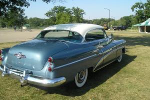 1953 BUICK SUPER 2 DOOR HARD TOP 71000 MILES ALL STEEL, RESTORED