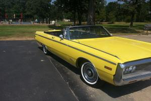 1970 CRYSLER CONVERTIABLE SUPER NICE CAR 440 TNT MOTOR