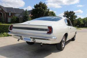 1967 Barracuda Formula S Fastback Rare 383 White Tan