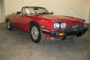 1,283 MILES - LIKE NEW  XJS CONVERTIBLE - MAY BE LOWEST MILEAGE IN THE COUNTRY