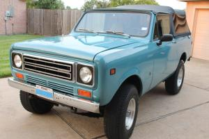 1978 International Scout II, 345 V8, Auto, 4X4, PS, PB, Soft Top, Fresh Body