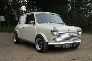 classic mini/ austin mini 998cc 45.000 miles straight cut drops t Photo