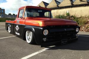 FORD F100 1957 CUSTOM PICKUP, REMOTE AIR RIDE,