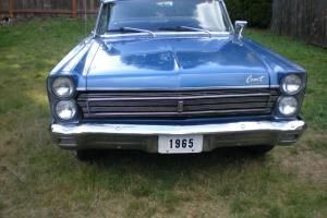 1965 Mercury Comet Cyclone V8 4 speed in excellent rust free condition,clean car