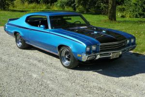 1972 BUICK SKYLARK CUSTOM 2 DR BUILT 455 1971 GSX CLONE LOADED WITH OPTIONS