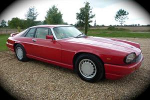 JAGUAR JAGUARSPORT XJS XJR-S V12 2 DOOR COUPE AUTOMATIC RED CLASSIC CAR 1989