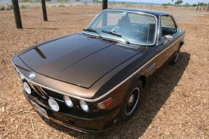 1973 BMW 3.0 CS E9 Coupe Marrakech Brown Met - NO RESERVE