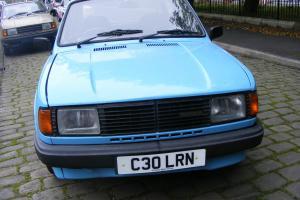 C30LRN - SKODA 120 LS 4 DOOR SALOON IN PALE BLUE