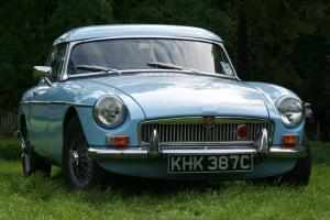 Mk1 MGB Roadster in original Iris Blue
