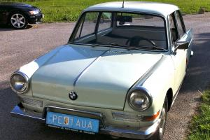 1965 BMW 700cc LS Luxus, 2 cyl aircooled boxer, org.interior, 4 spd, spare eng.