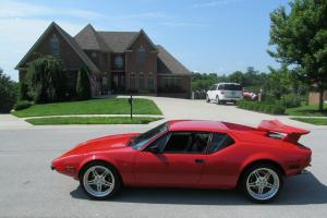 1972 DeTomaso Pantera Base Coupe 2-Door 5.8L 22700 ACTUAL MILES PRO TOURING