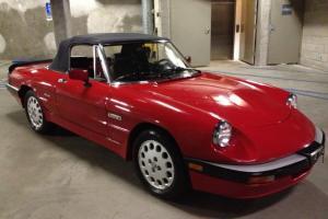1986 Alfa Romeo Sipider  Quadrifoglio Rare 1 owner Only 57k miles All Original!