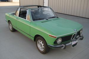 1975 BMW 2002 Baur Targa Convertible Photo