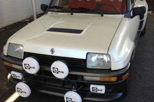 1986 Renault R5 Turbo 2 - Factory Modified - Absolutely PERFECT No Reserve!