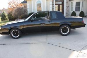 1986 BUICK REGAL  GRAND NATIONAL CAR -FRAME OFF-RESTORED IN EXCELLENT CONDITION