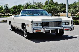 Simply beautiful just 39900 miles 76 Cadillac Eldorado Convertible car is right,