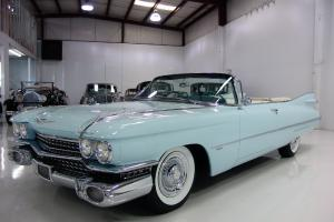 1959 CADILLAC SERIES 62 CONVERTIBLE, AIR CONDITIONING, POWER STEERING, STUNNING!