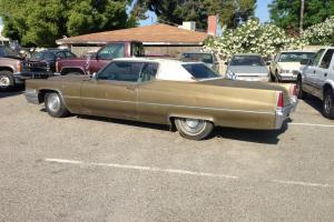 1969 Cadillac DeVille Base Hardtop 2-Door 7.7L