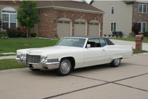 1970 Cadillac Coupe DeVille 2 Door Hrdtp Very Nice Full Size Luxury Car