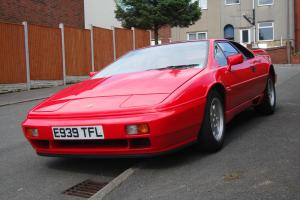 Lotus Esprit Turbo 1988 (ltd. Ed. interior trim- first 200 cars) Calypso Red