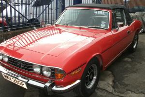 1976 TRIUMPH STAG RED, MANUAL, GOOD ALL ROUND CONDITION