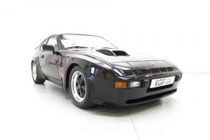 One of 75 UK Porsche 924 Carrera GT