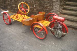1924 Briggs and Stratton Vintage Flyer Small vehicle / GoKart