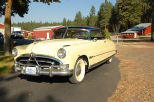1951 Yellow Hudson Hornet Hollywood Coupe in Like New Condition Totally Restored Photo