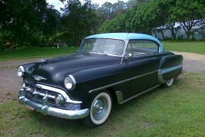 1953 Chevy 2 Door Hardtop Good Paint Interior 350 V8 T700 Auto Very Rare CAR in Moreton, QLD