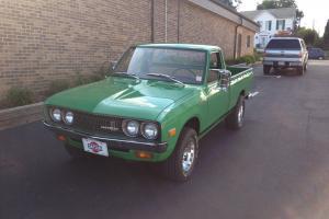 Datsun 620 Pickup - Time Warp Barn Find Photo
