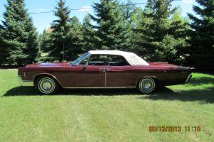 1966 Lincoln Continental 4 Door Convertible