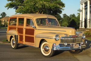 Classic 1946 Mercury Woodie Photo